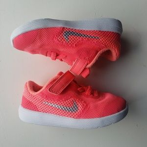 Toddler Nike Sneakers - Neon Pink - Size 7